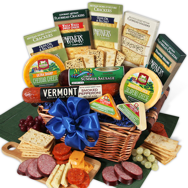 Gift Baskets Meat and Cheese