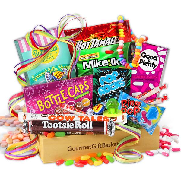 Gift Baskets Nostalgic Candy