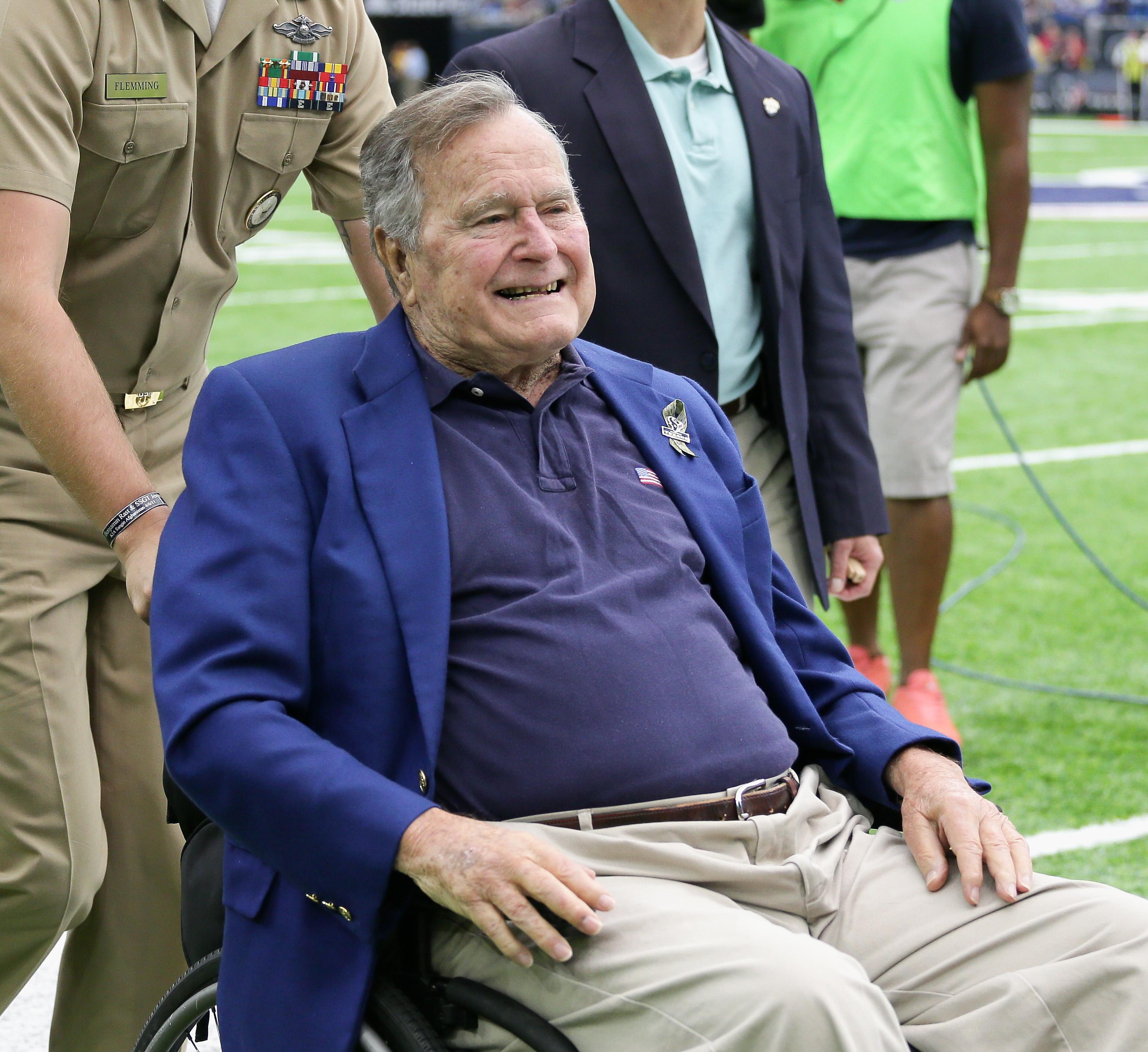 George-HW-Bush-Hospitalized