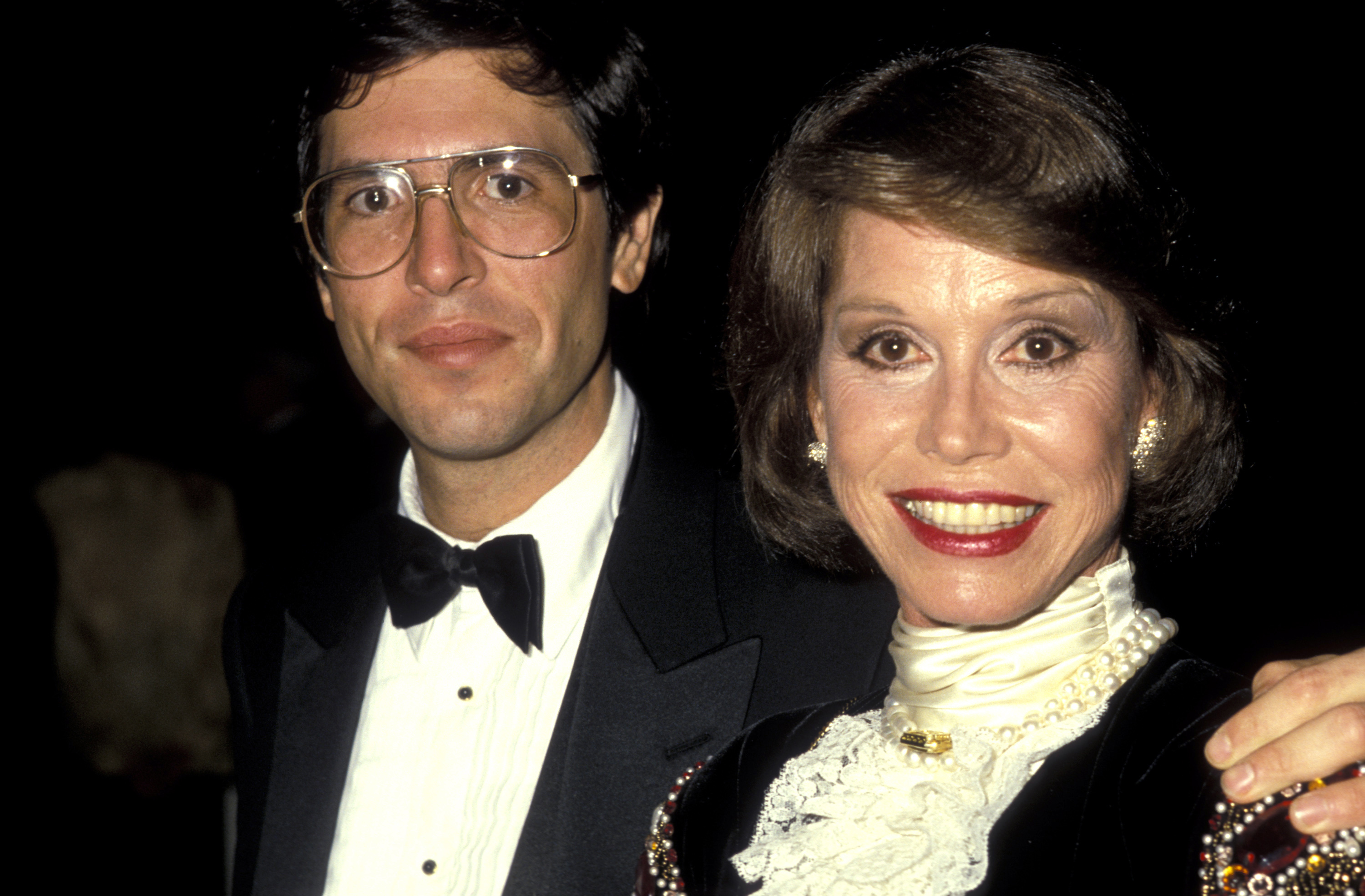 Mary Tyler Moore and Robert S Levine