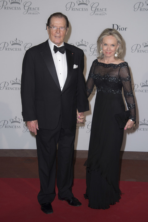 roger moore wife getty