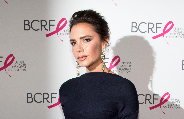 Victoria Beckham Face 2017