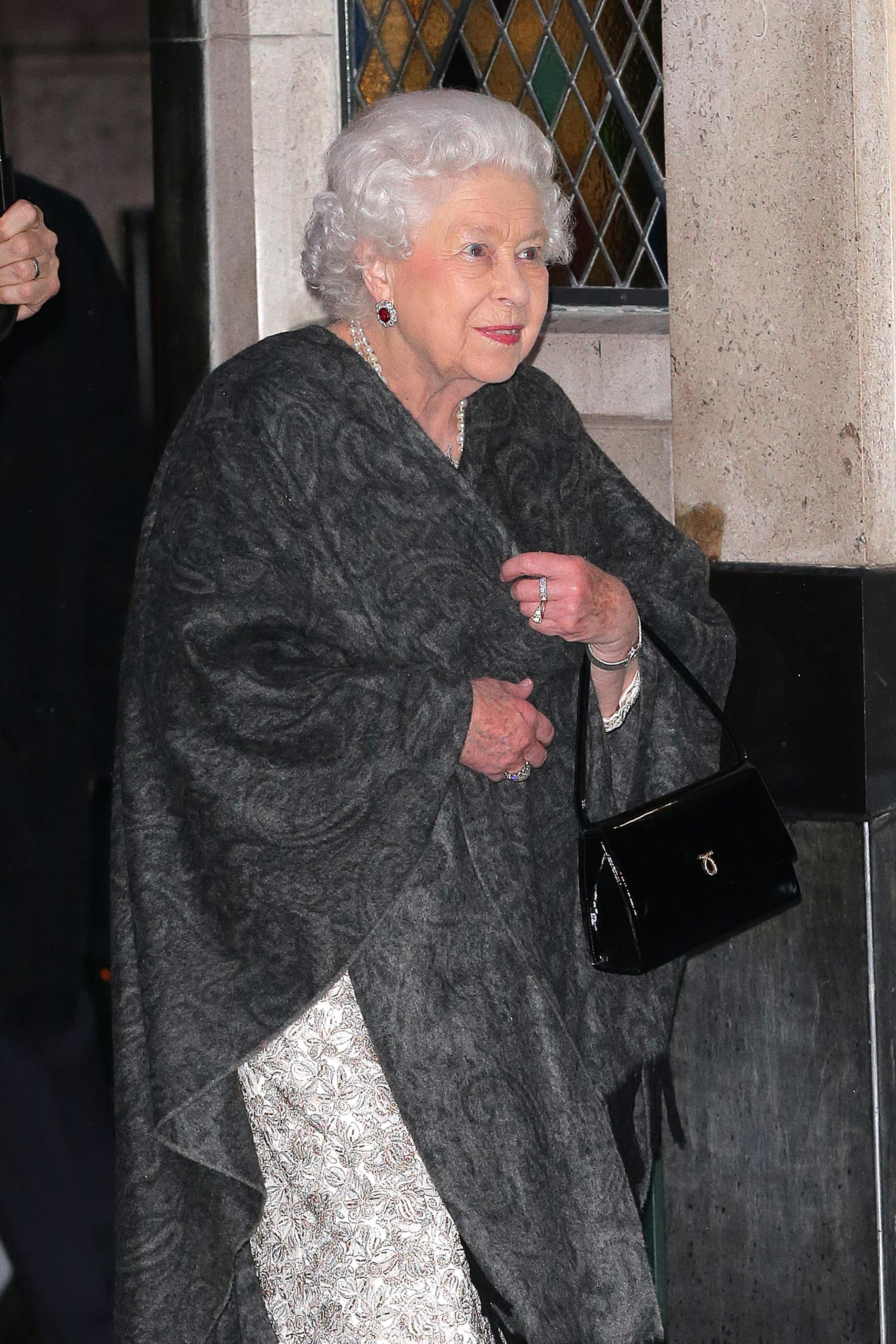 Queen Elizabeth The Ivy Smiling