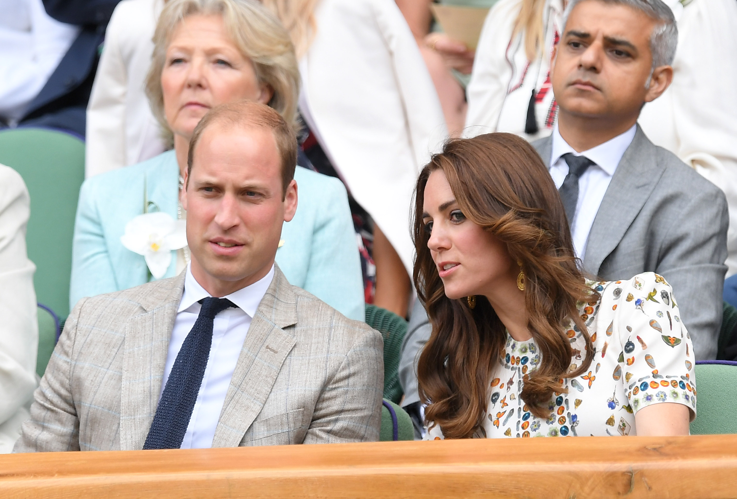 Kate Middleton Wimbledon Getty