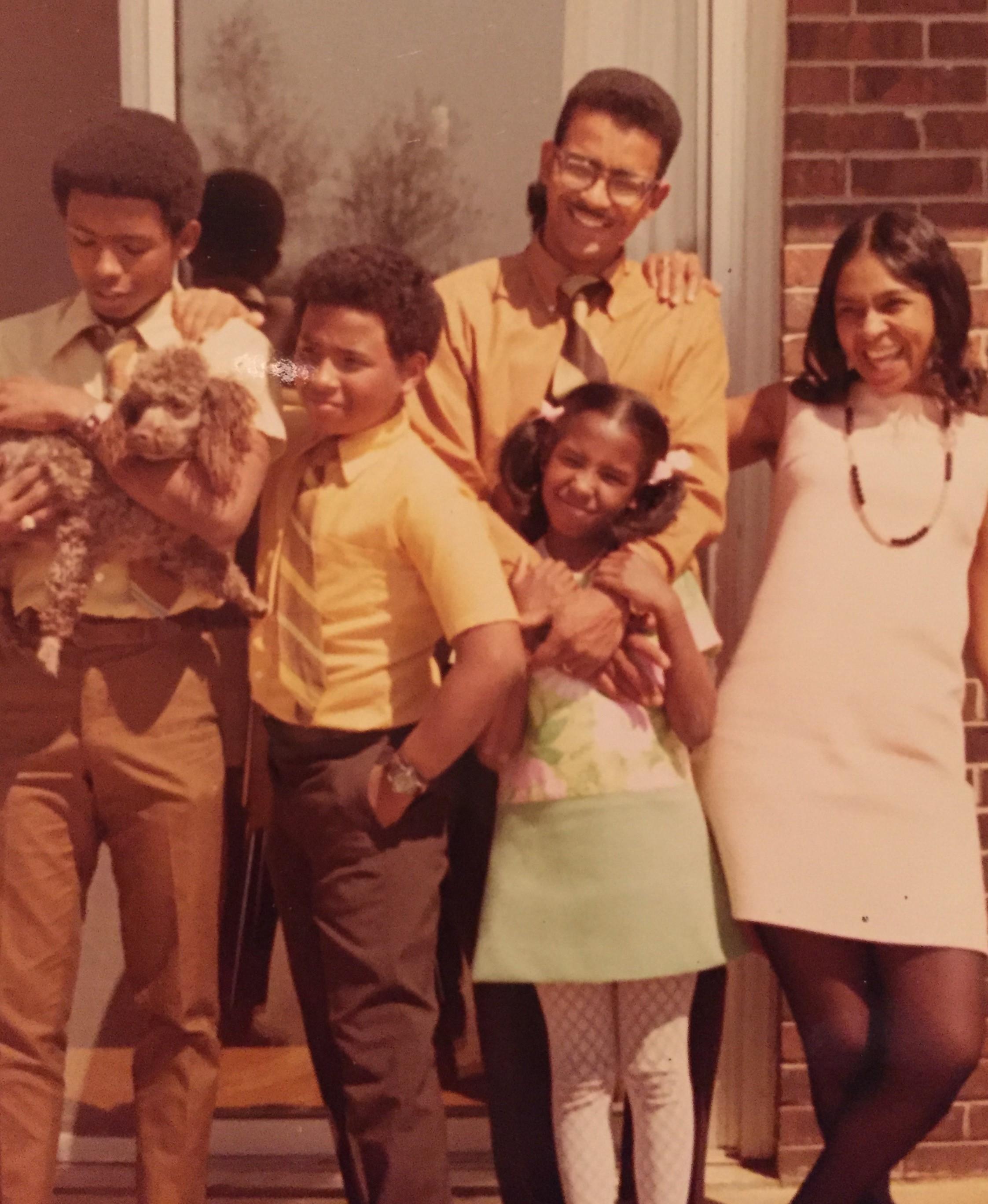 Susan Lee's parents and siblings