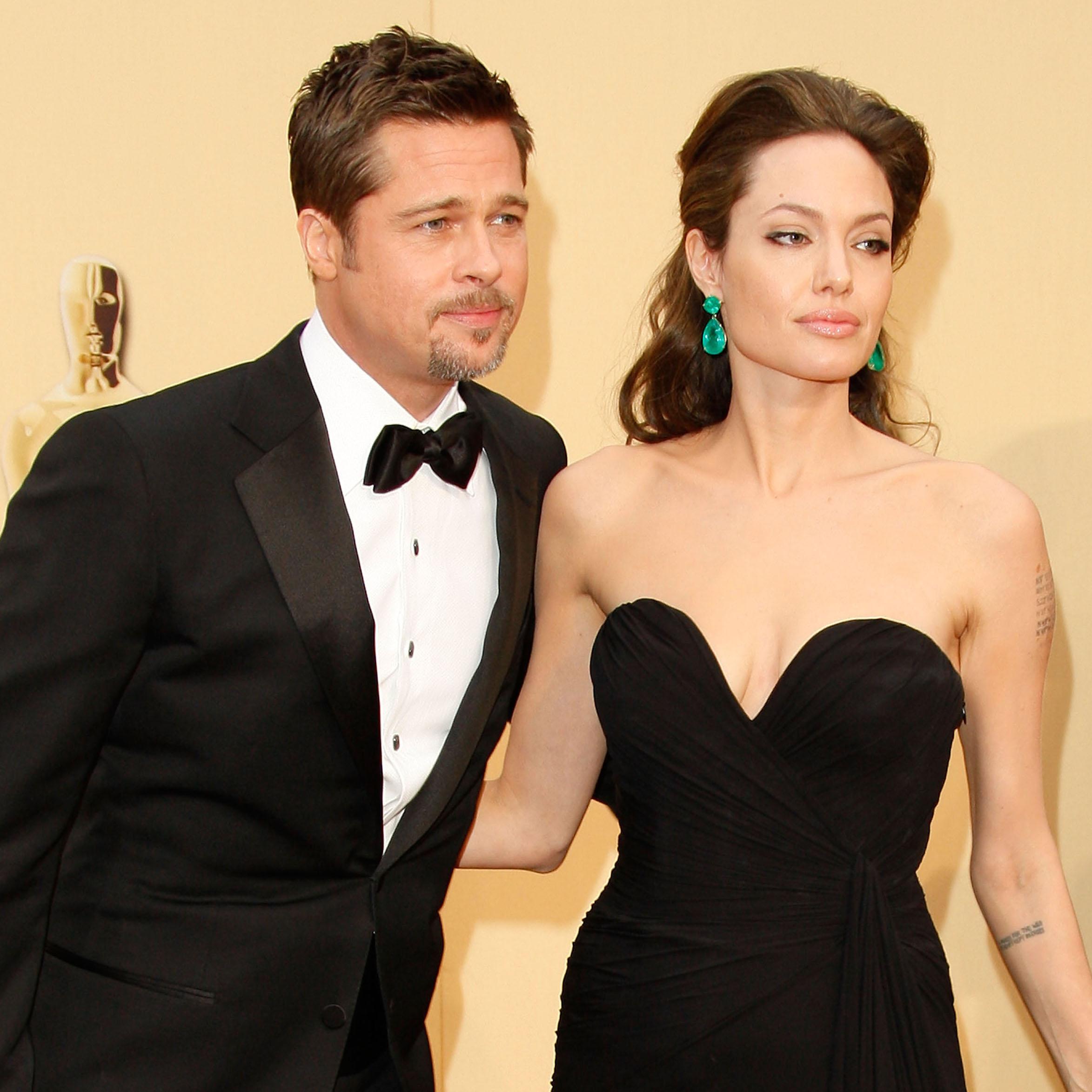Angelina Jolie Brad Pitt Getty Images