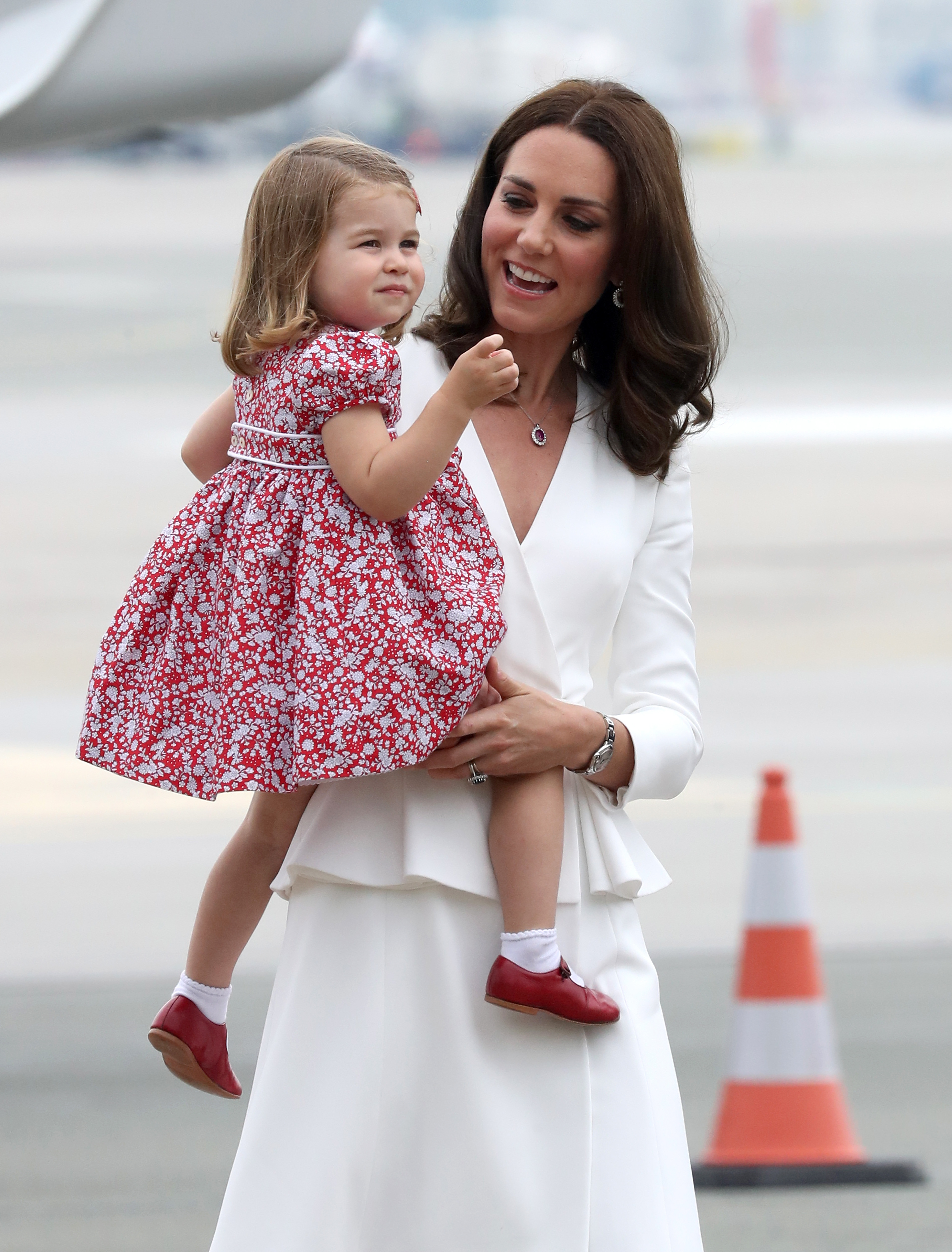 Kate Middleton Princess Charlotte Poland