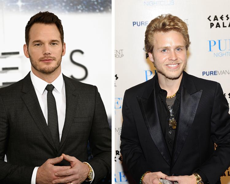 Spencer and Chris Pratt