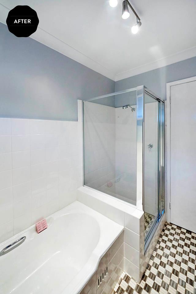 Bathroom Budget Makeover