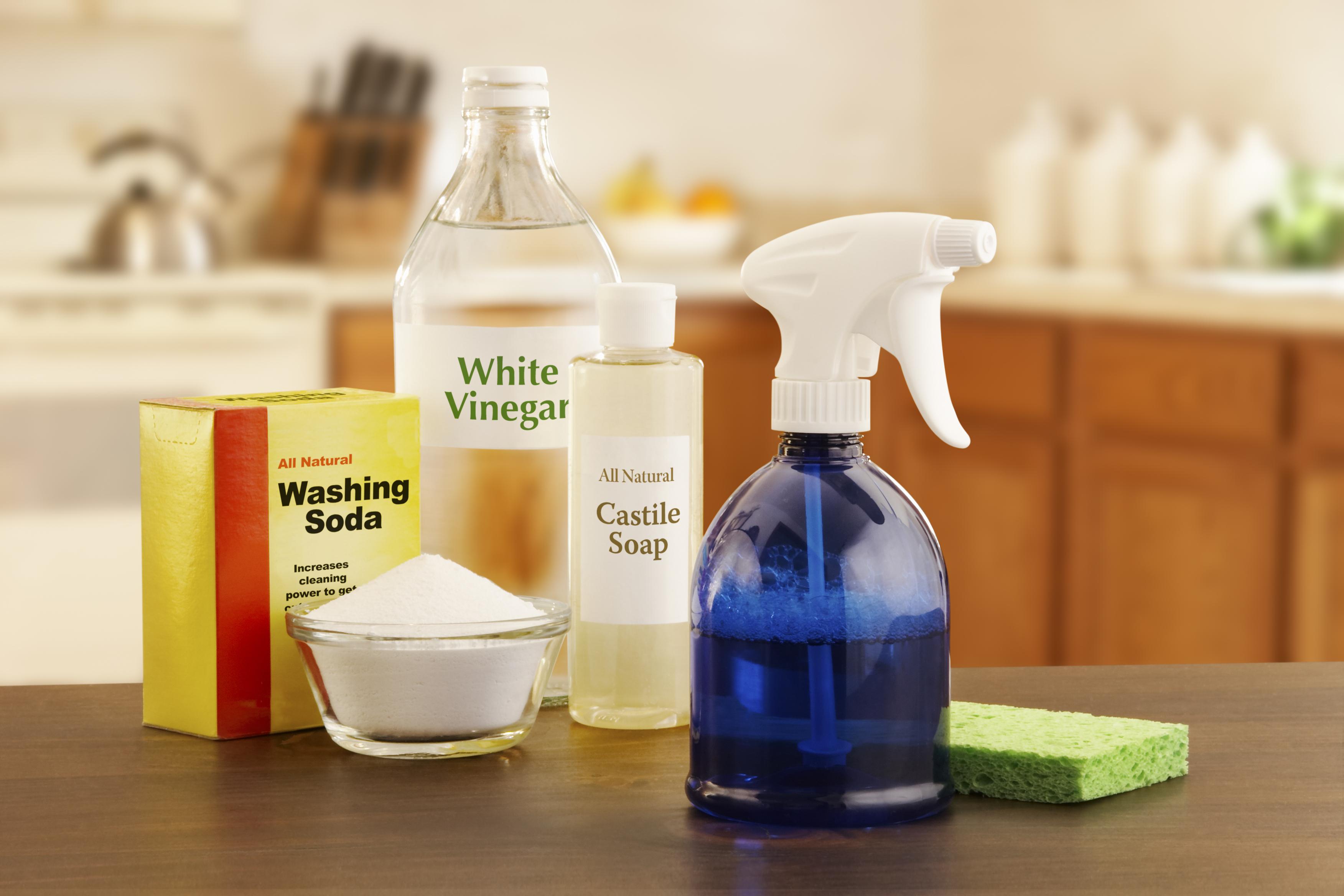 white vinegar getty