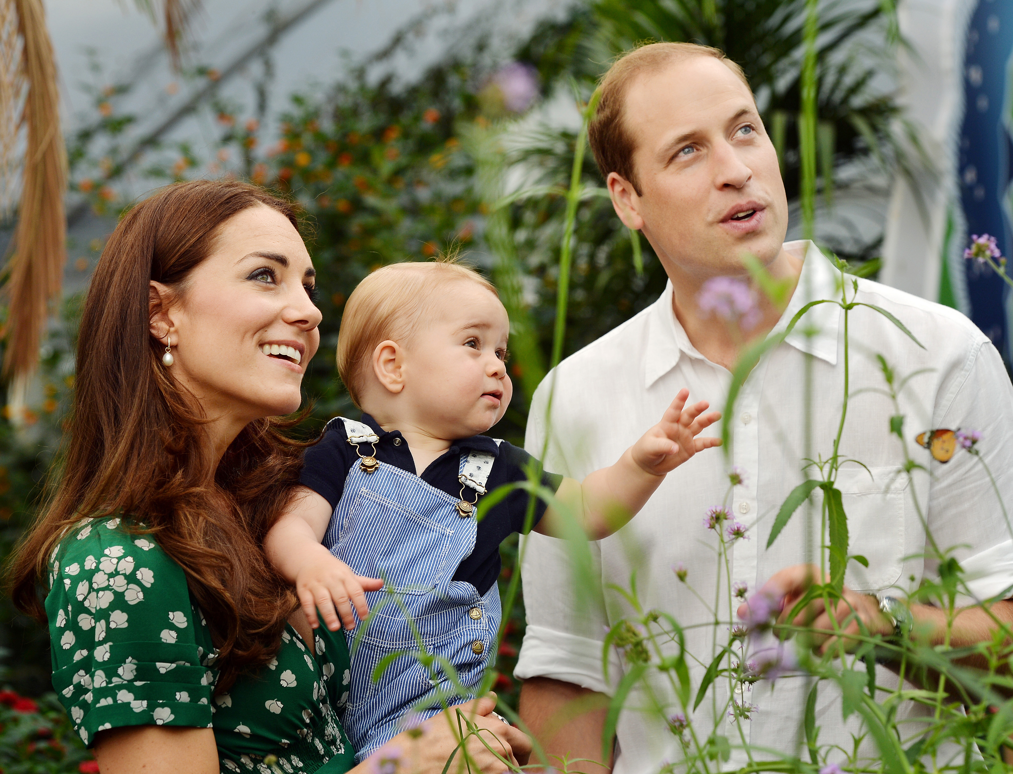 Prince William Kate Middleton young Prince George
