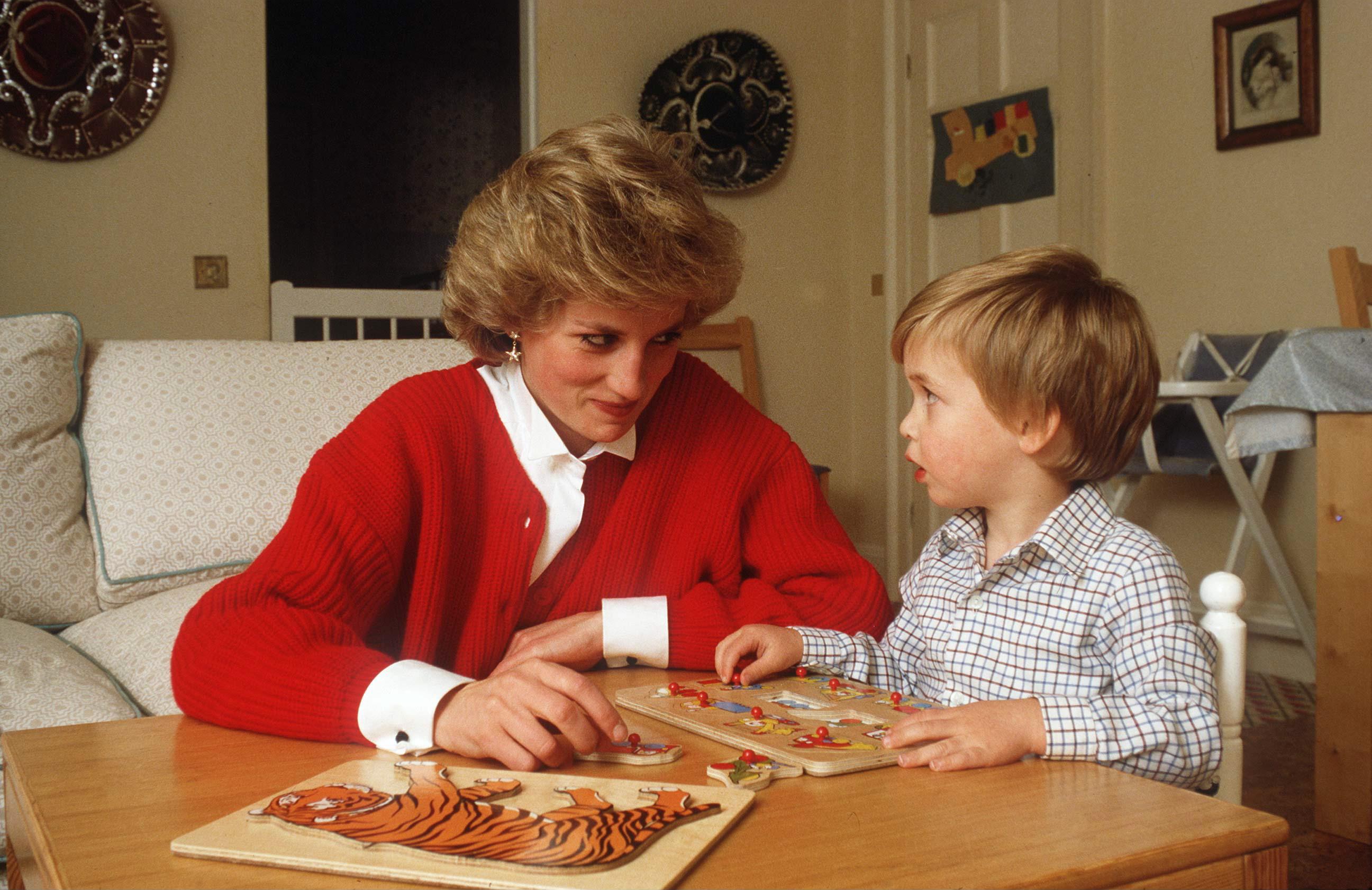 Princess Diana Prince William