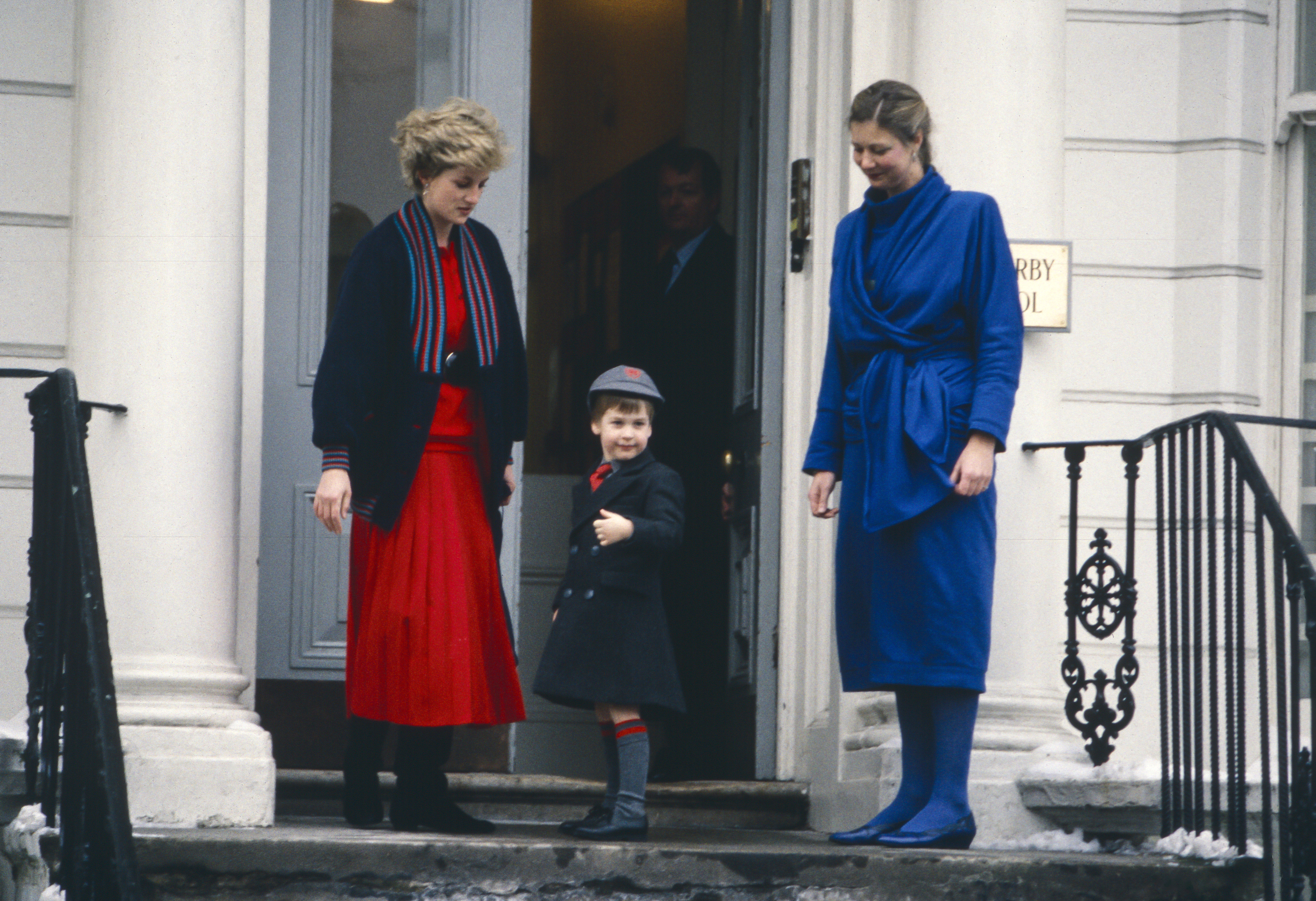 Prince William Princess Diana School