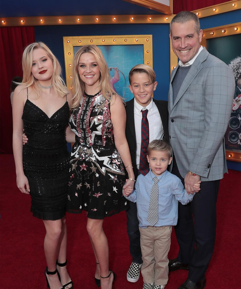 Reese Witherspoon Jim Toth Family