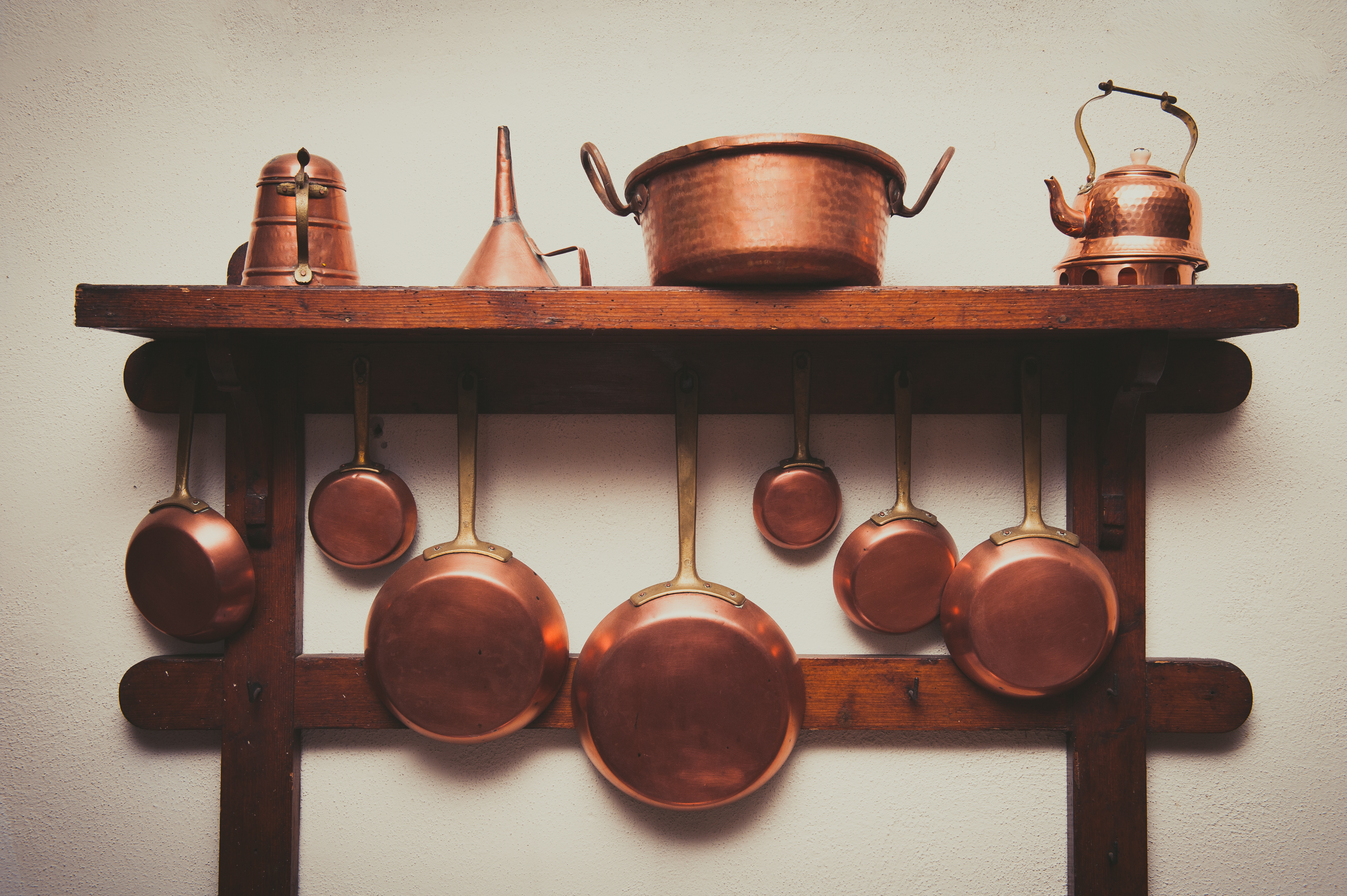 Cleaning Copper Pans