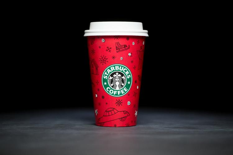 Starbucks Christmas Cups 1999
