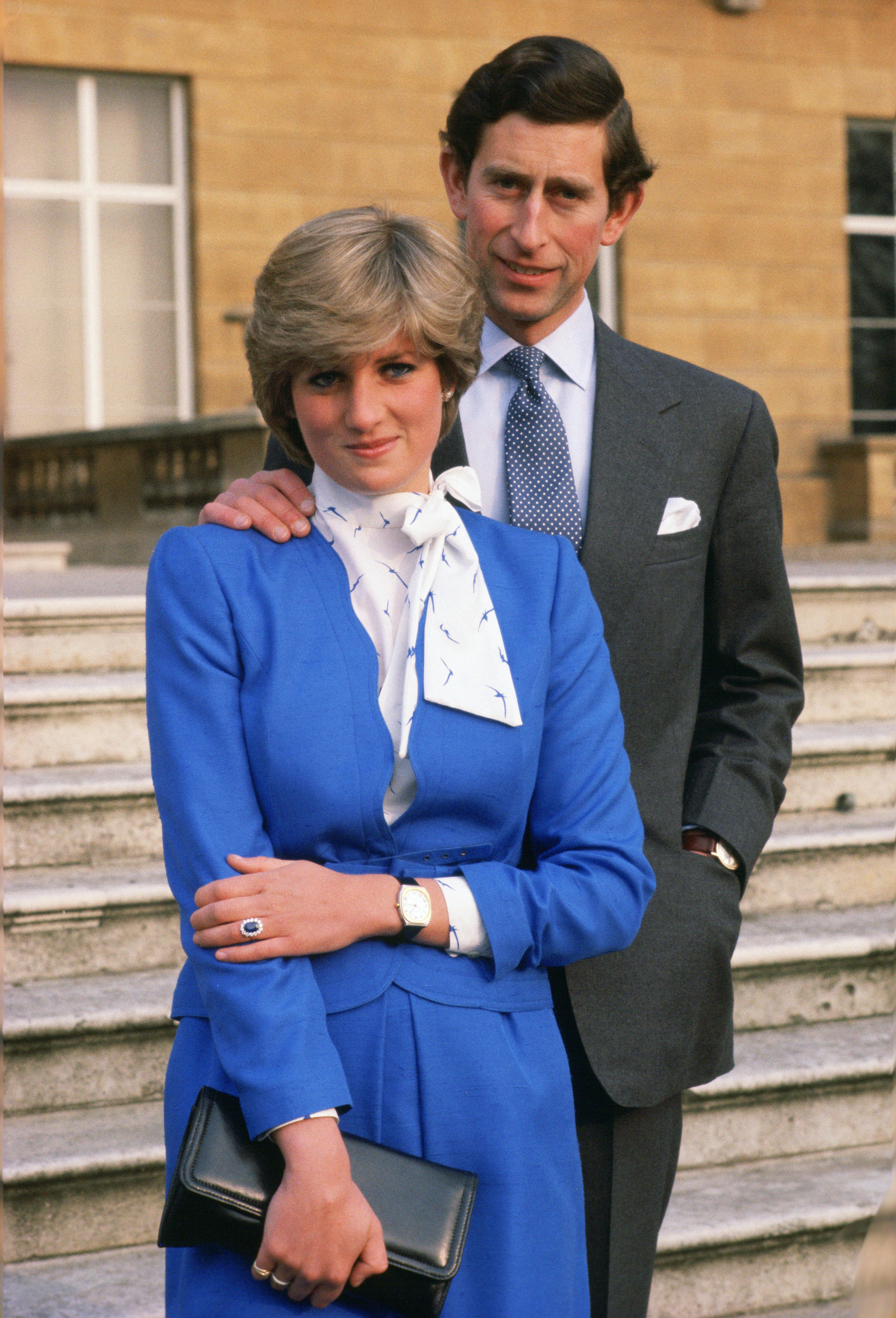 Princess Diana engagement photos