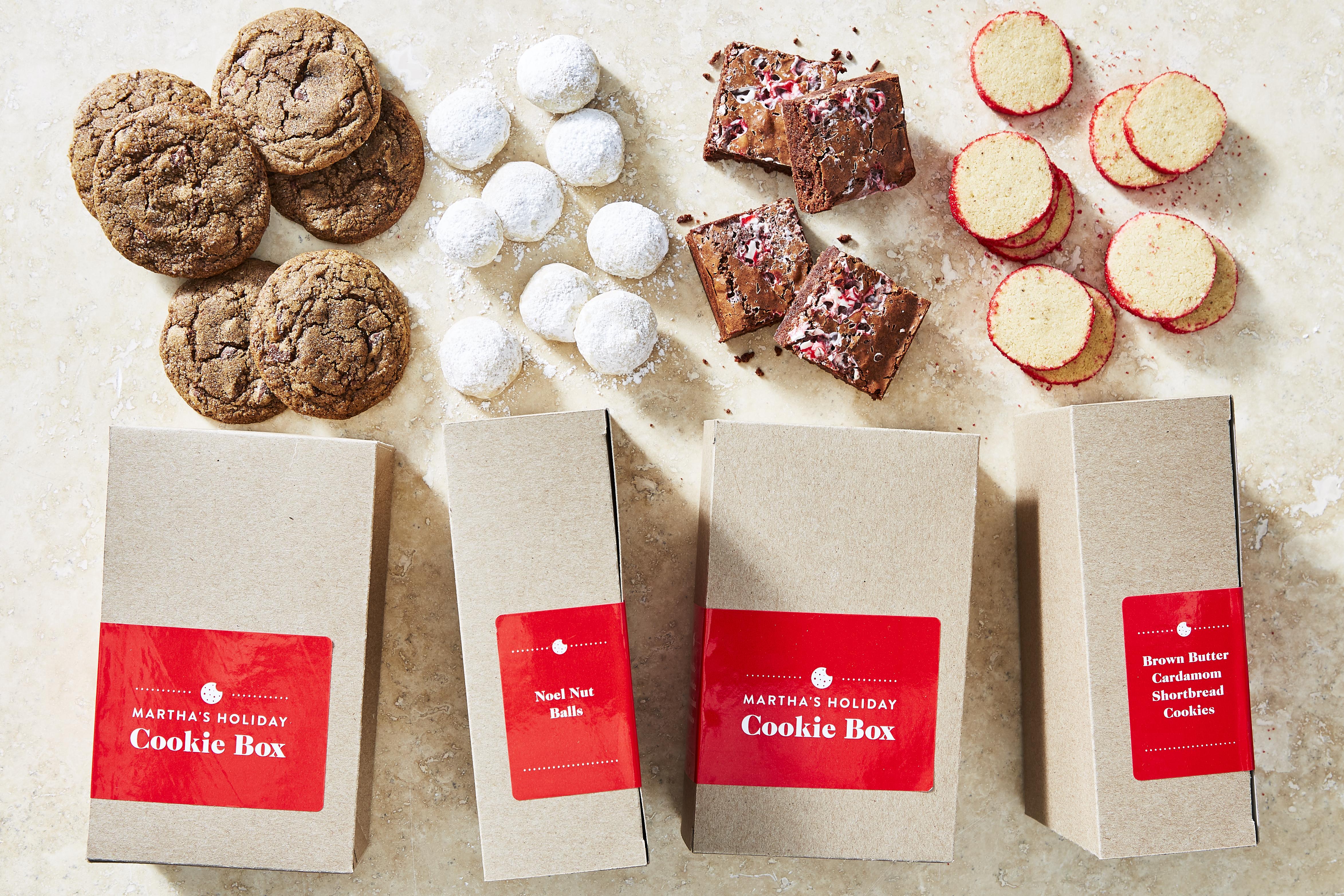 Martha Stewart Holiday Box: All Four Recipes