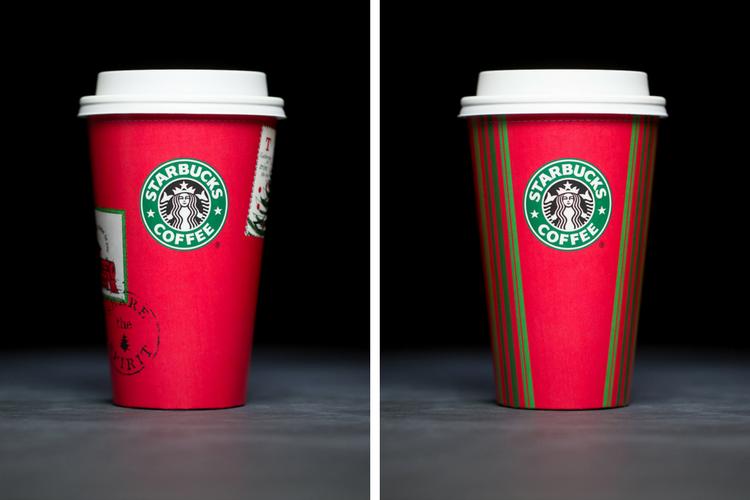 Starbucks Christmas Cups 2001