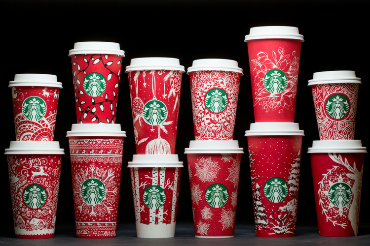 Starbucks Christmas Cups 2016
