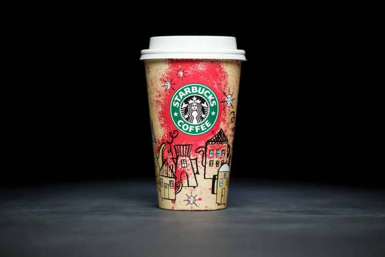 Starbucks Christmas Cups 2000