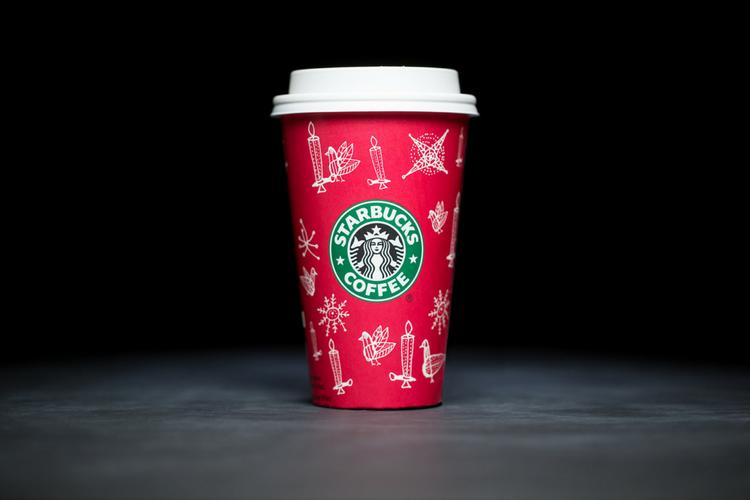 Starbucks Christmas Cups 2002