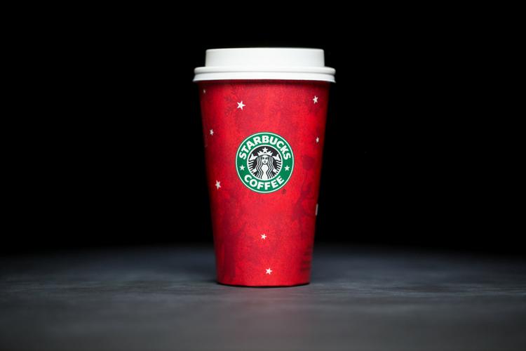 Starbucks Christmas Cups 2003