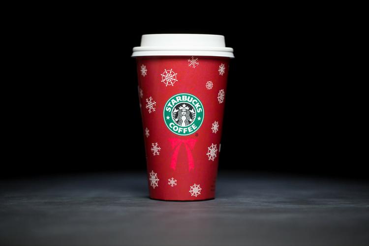 Starbucks Christmas Cups 2004