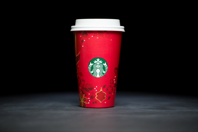 Starbucks Christmas Cups 2013