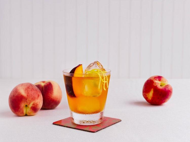 Whiskey Peach Pit Pie