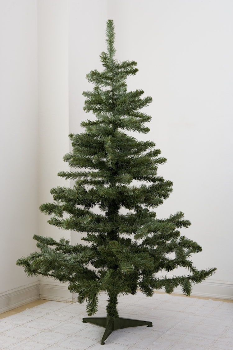 artificial christmas tree getty