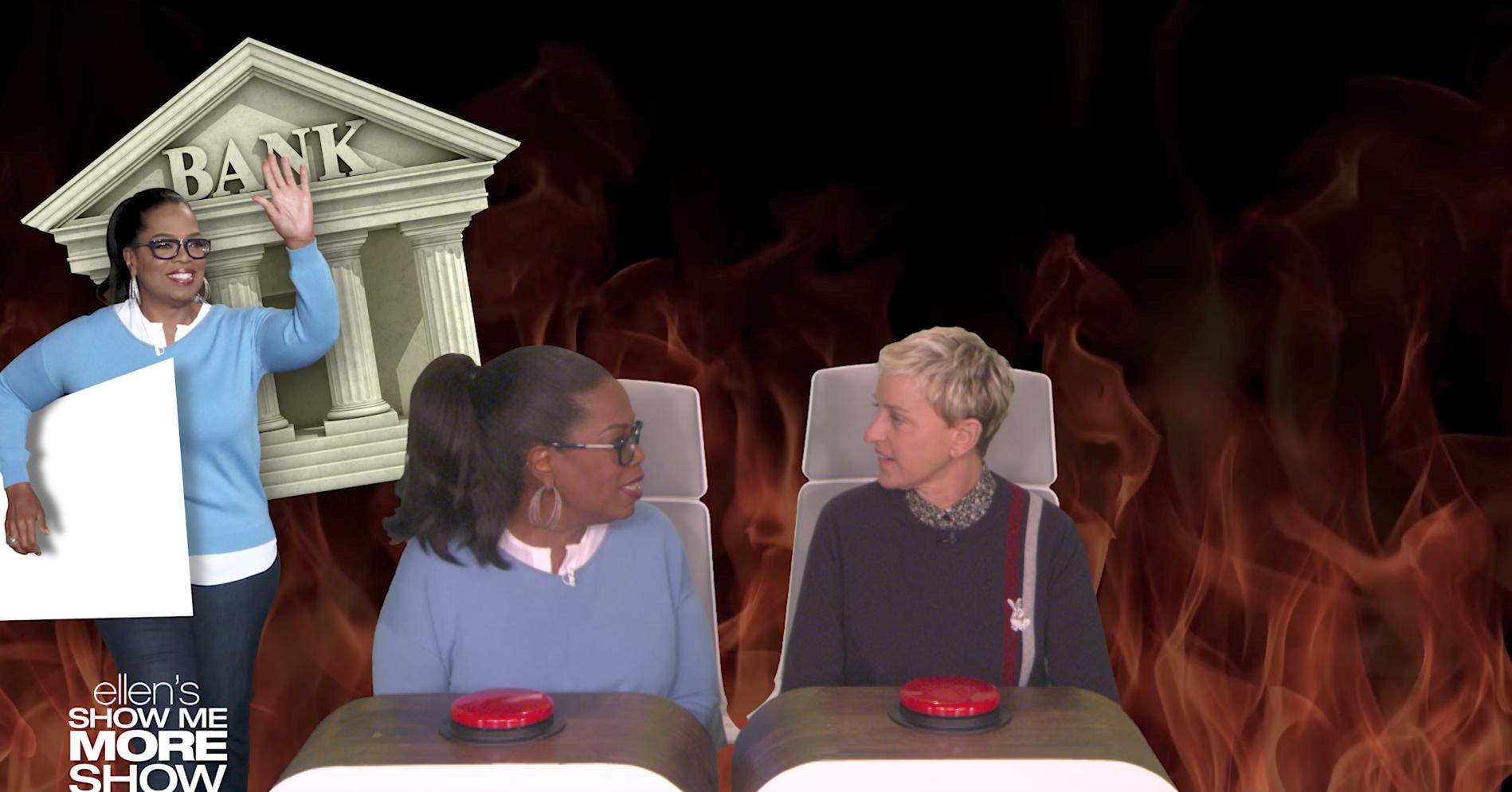Oprah Winfrey Ellen DeGeneres YouTube
