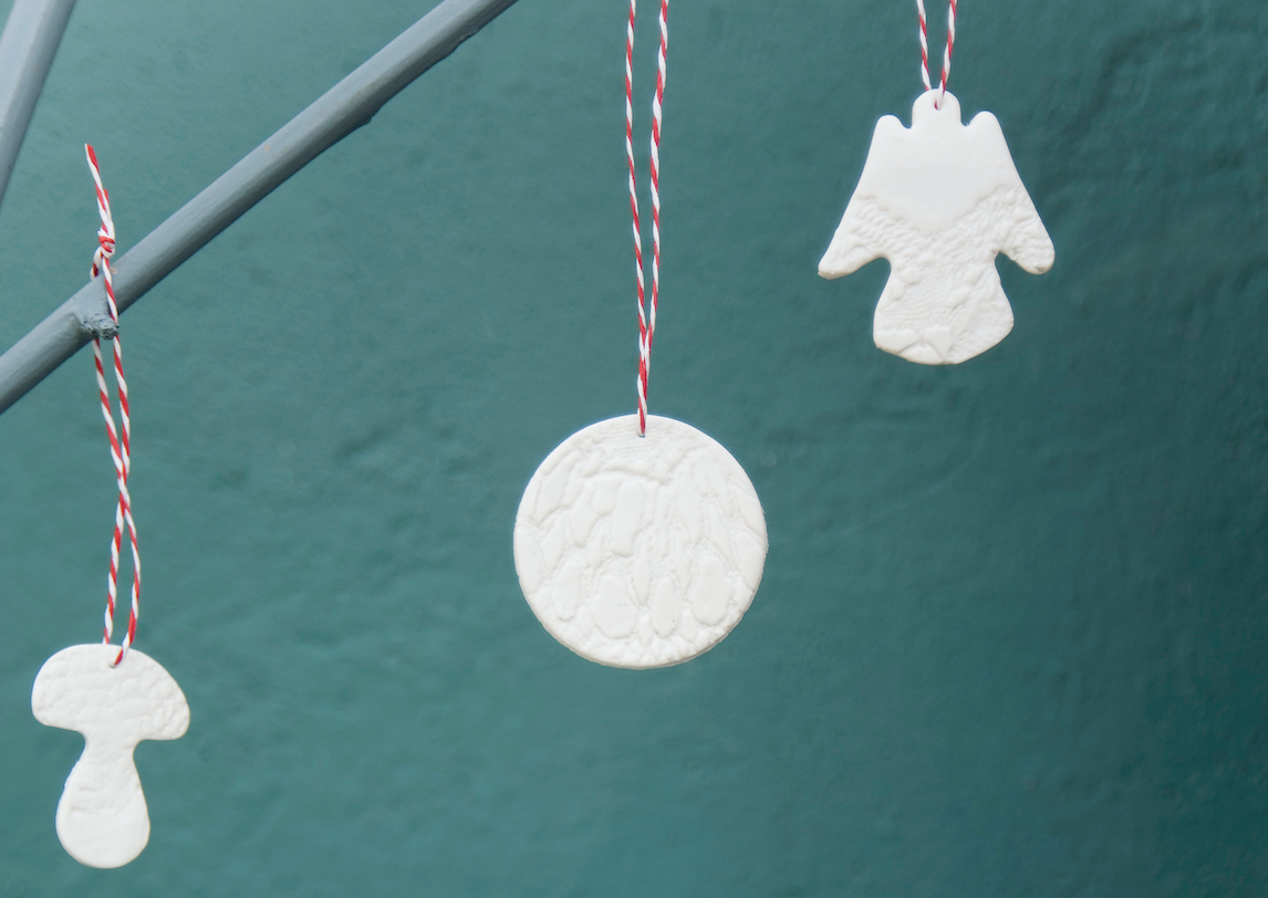 clay baubles