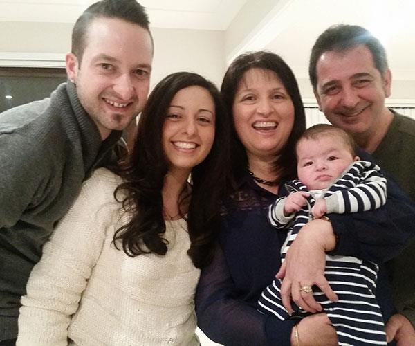 claudia and family