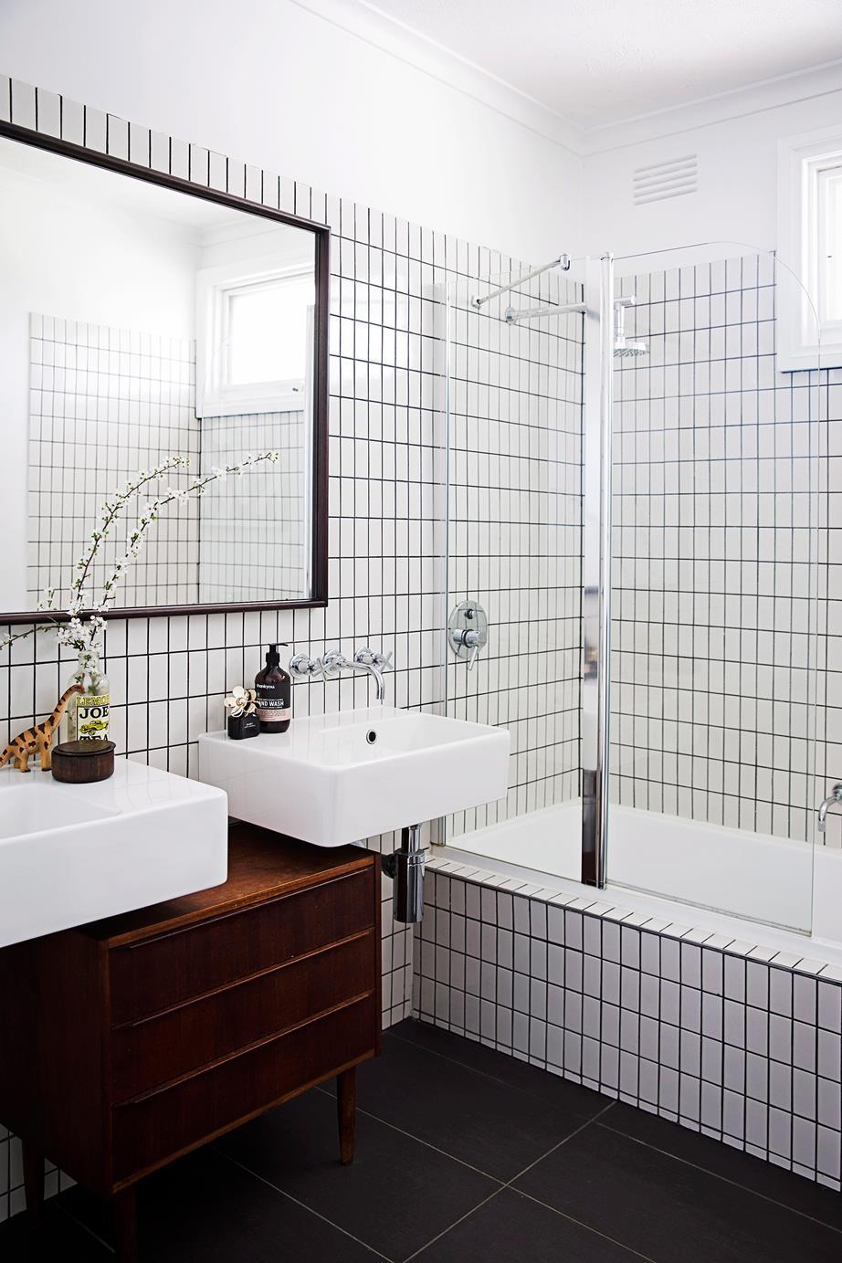 tile bathroom update
