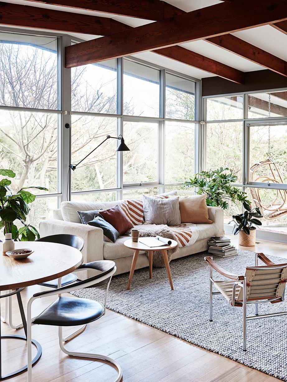 open plan living room htl