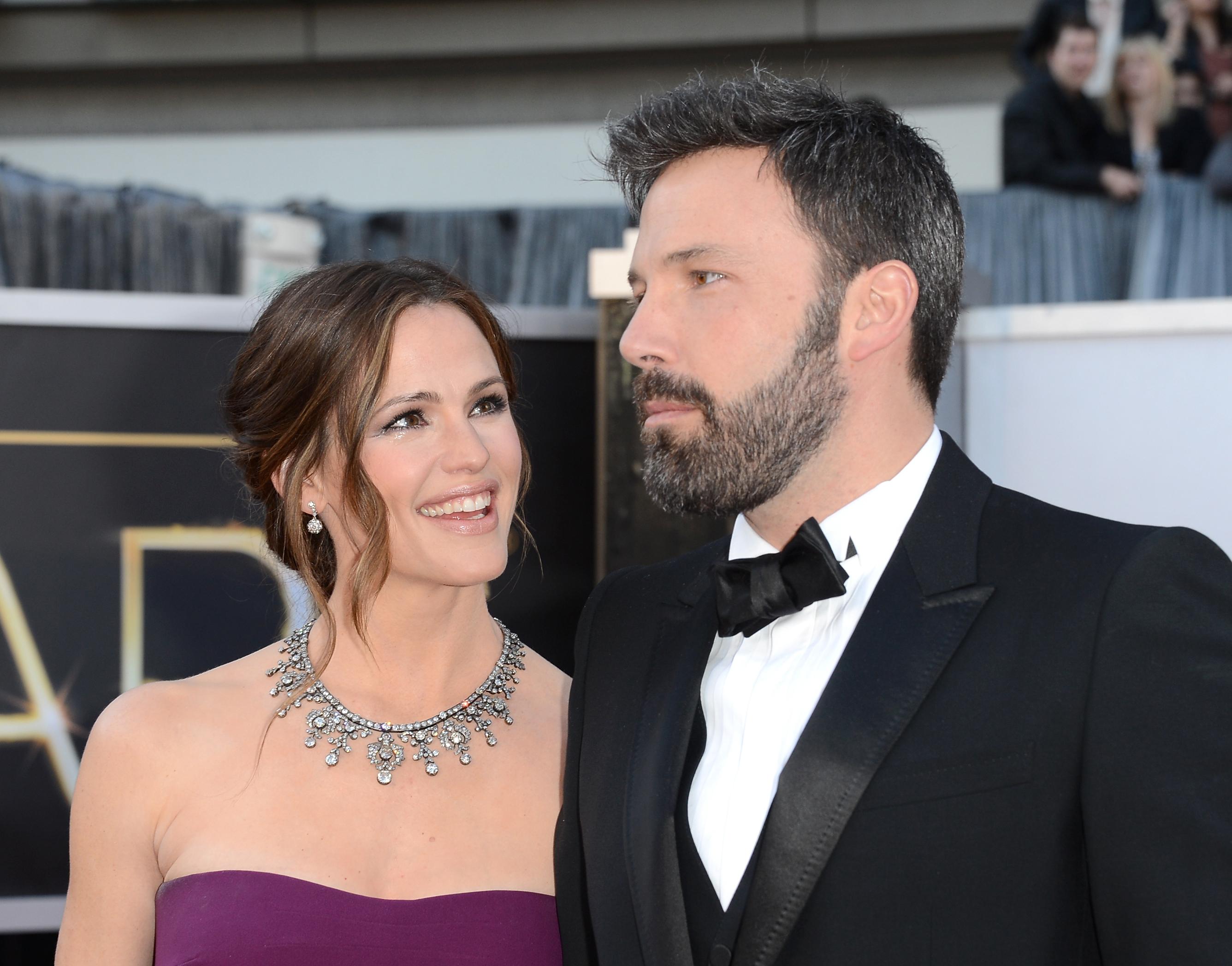 Ben Affleck Jennifer Garner Getty Images
