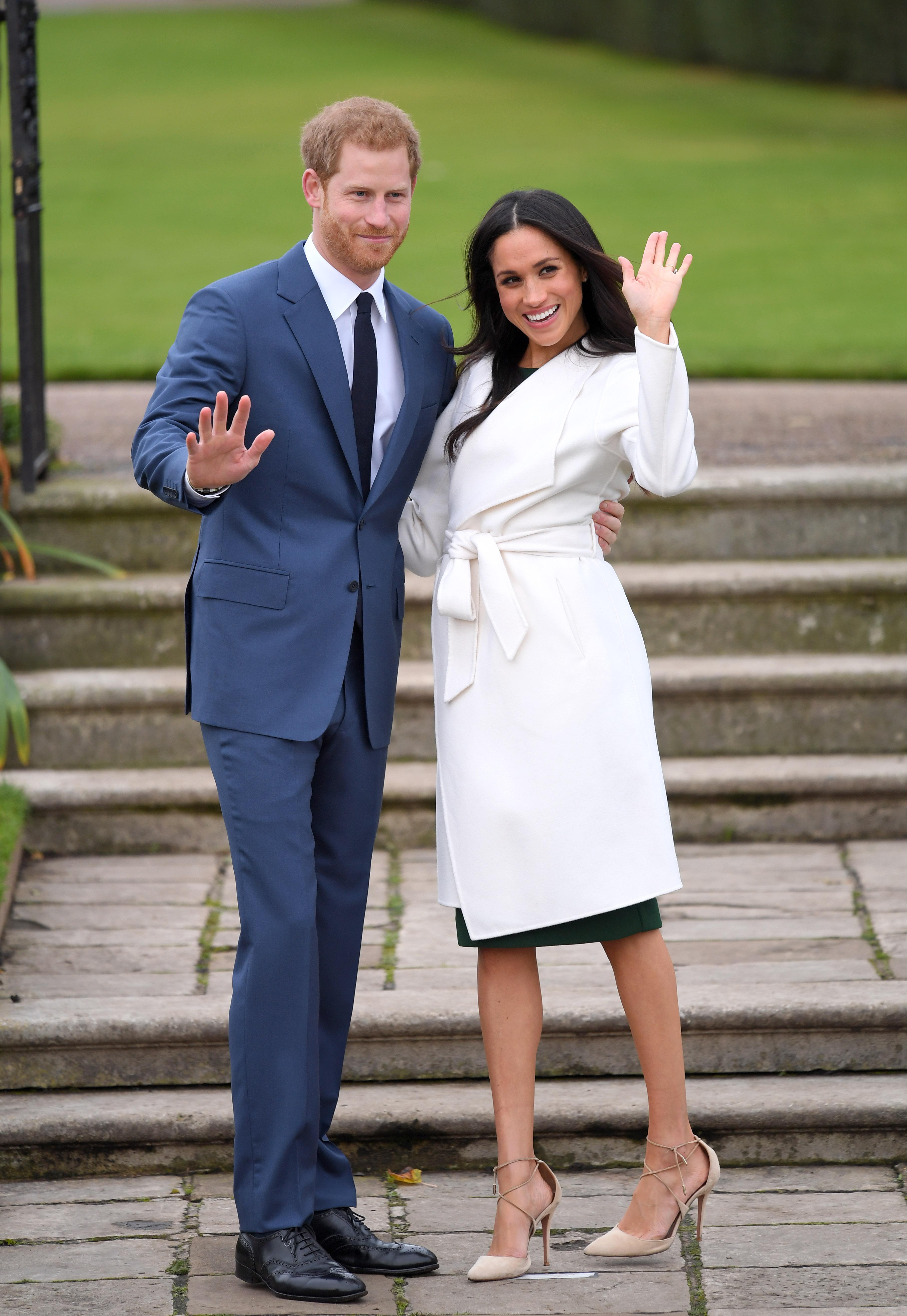 Meghan Markle Kensington Palace Getty Images
