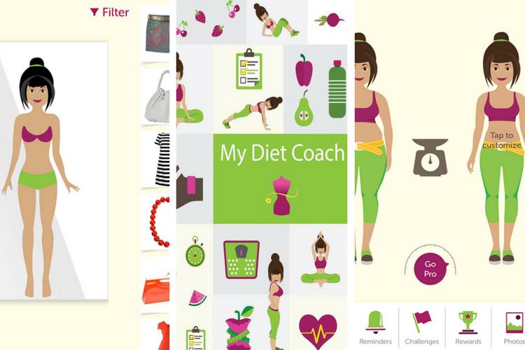 My Diet Coach Screen Shot