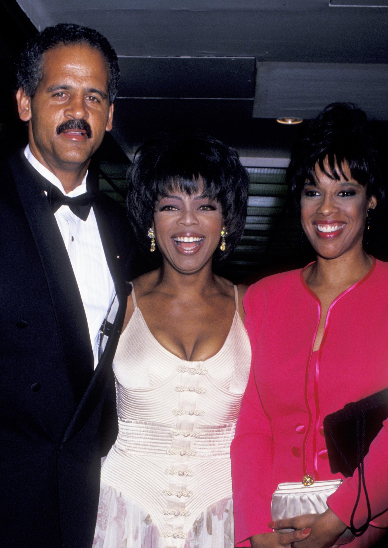 Oprah Winfrey Stedman Graham Gayle King Getty Images