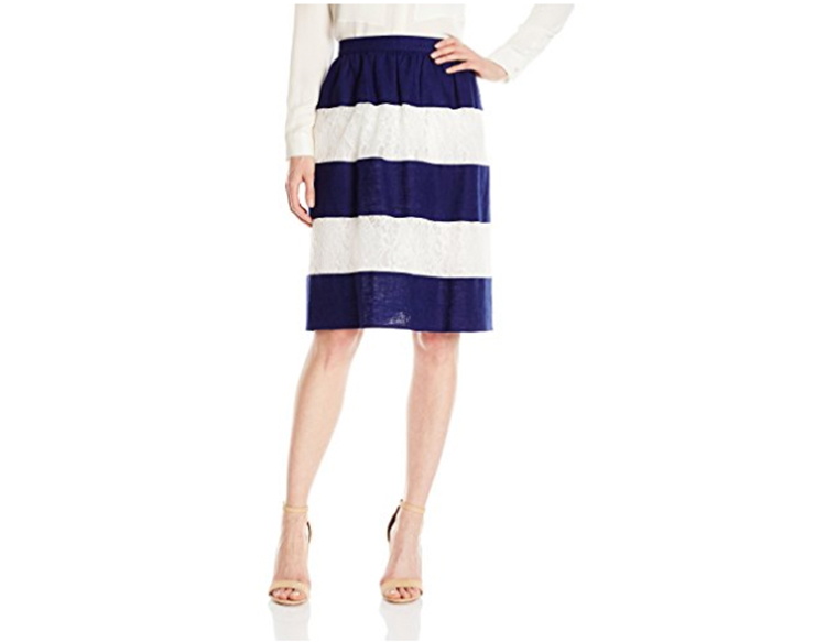 Perimenopause what to wear lark and ro skirt