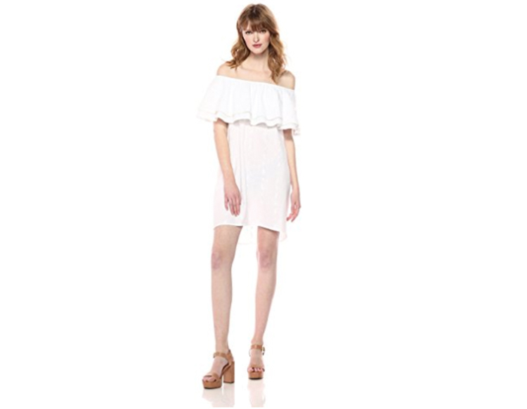 off shoulder dress perimenopause what to wear first for women