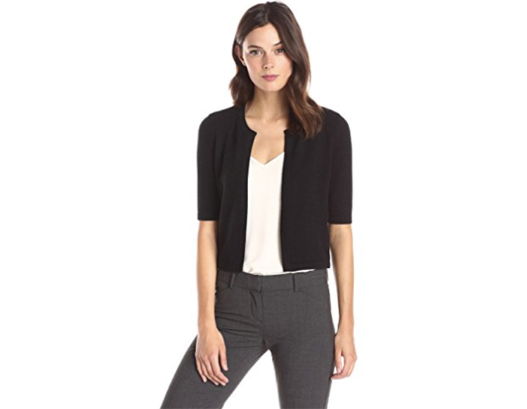 lark and ro cashmere cardigan perimenopause what to wear first for women