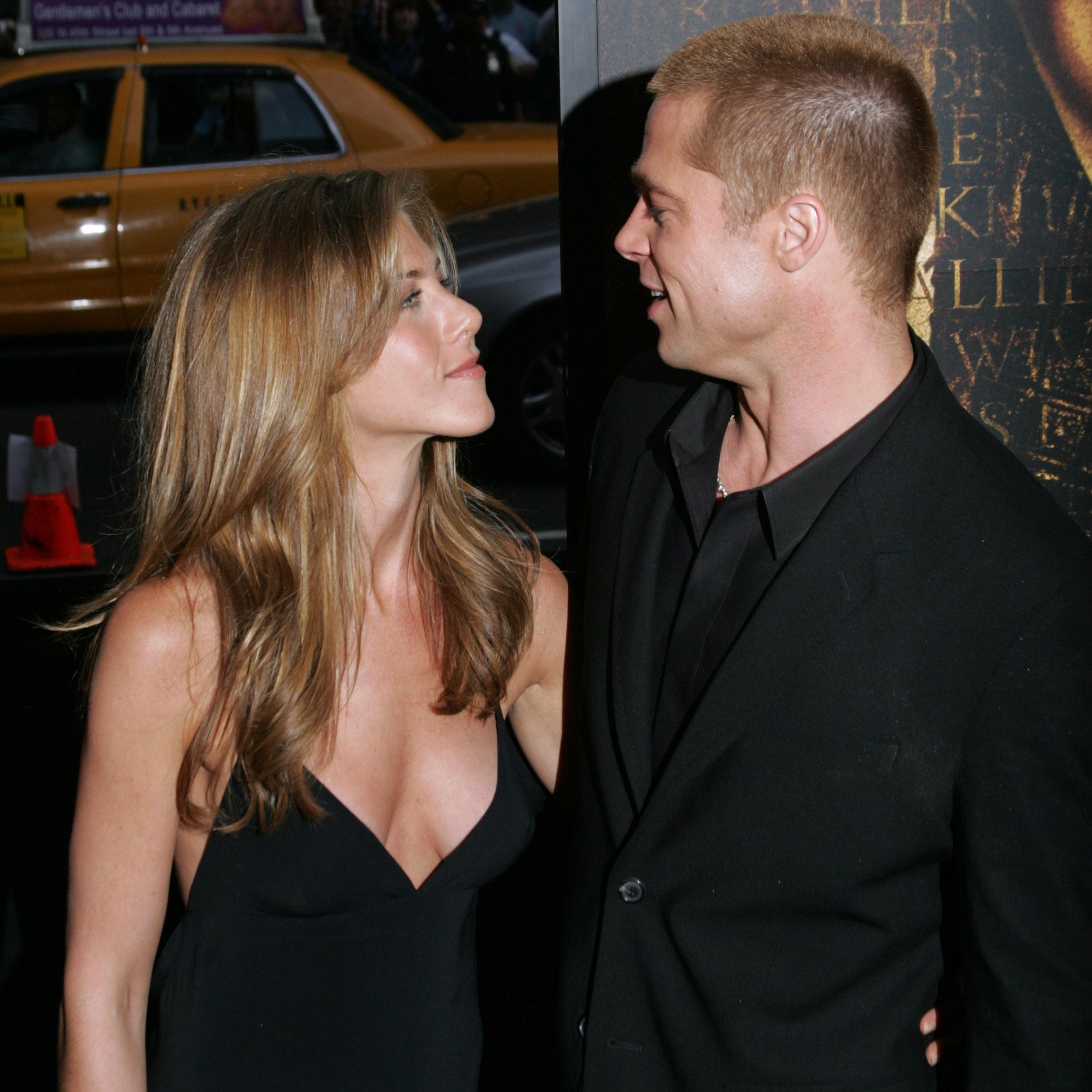 Brad Pitt Jennifer Aniston Getty Images