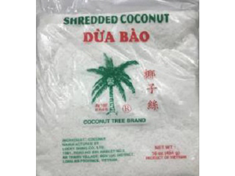 shredded coconut recall brand