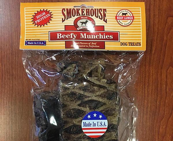 Smokehouse Beefy Munchies Recall