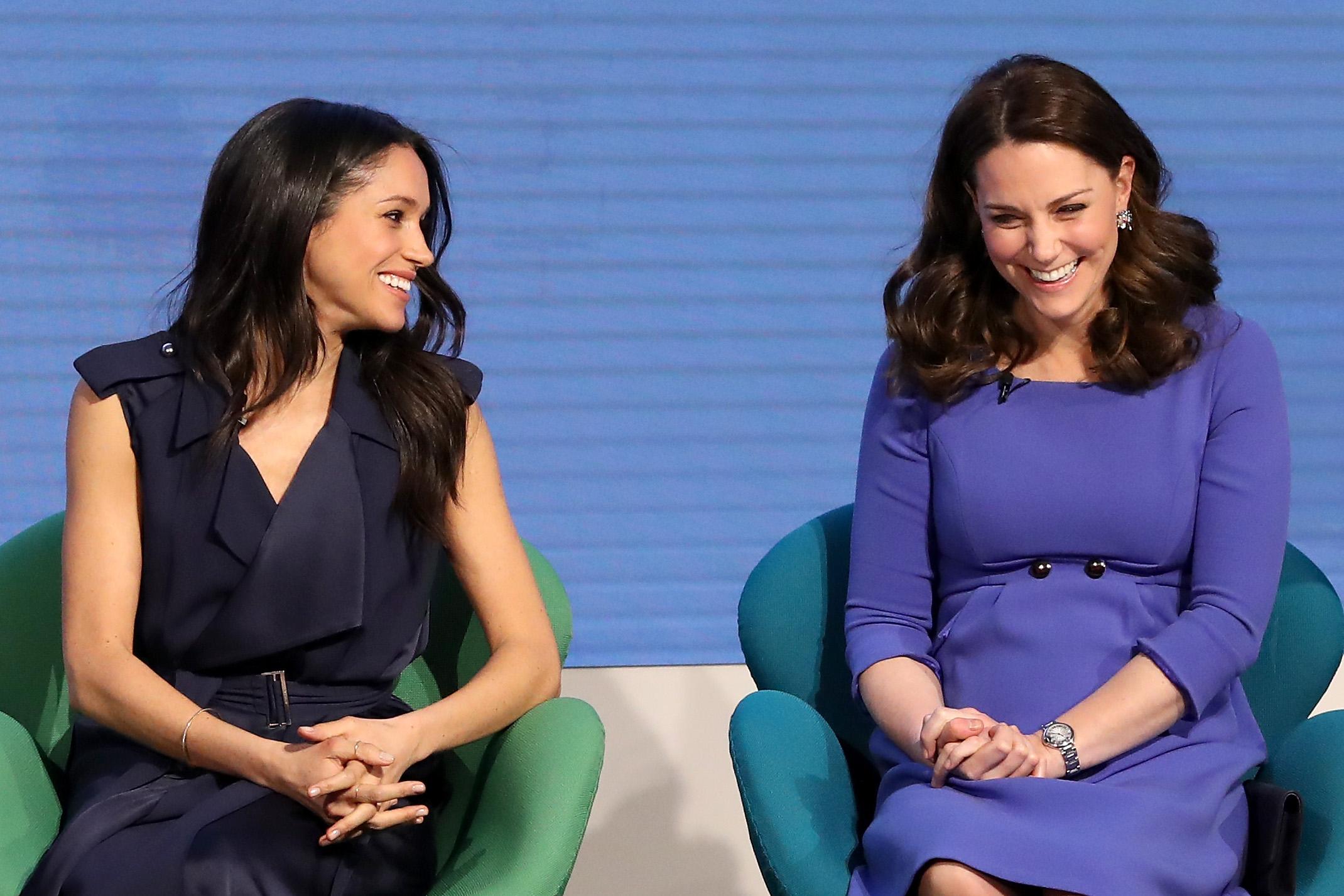 Kate Middleton Meghan Markle Getty Images