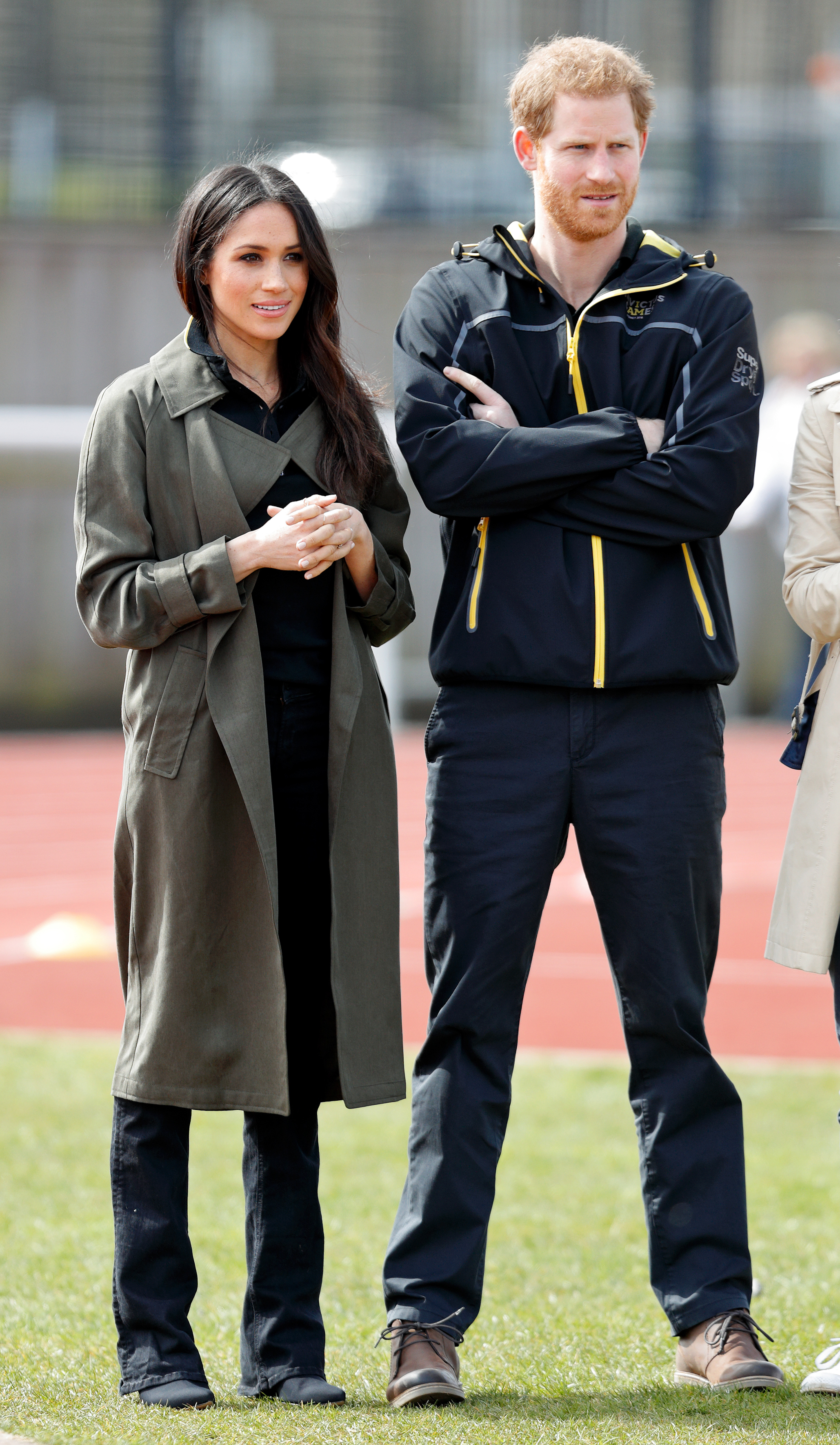 Meghan Markle Prince Harry Invictus Games Getty