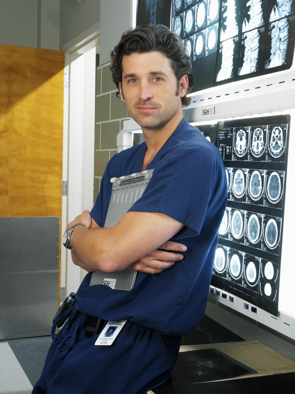 Derek Shepherd Greys Anatomy Getty Images