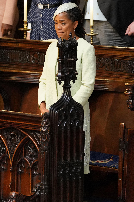 Doria Ragland Royal Wedding Getty Images